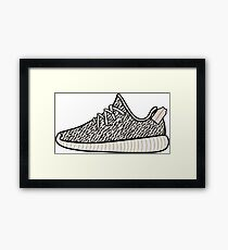 Yeezy Boost 350 Turtle Dove Framed Print