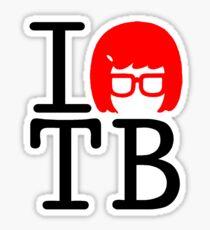 I Love Tina Sticker