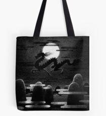 Drawlloween 2014: Dragon Tote Bag