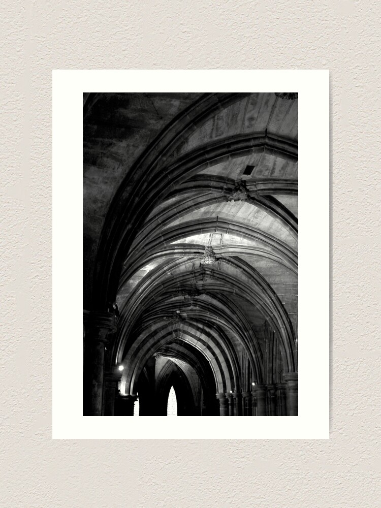 Alternate view of Glasgow Cathedral Art Print