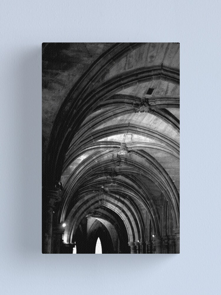 Alternate view of Glasgow Cathedral Canvas Print