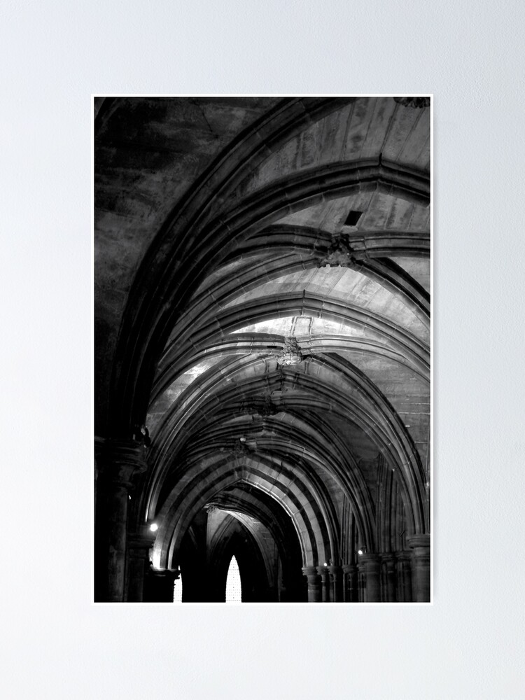 Alternate view of Glasgow Cathedral Poster