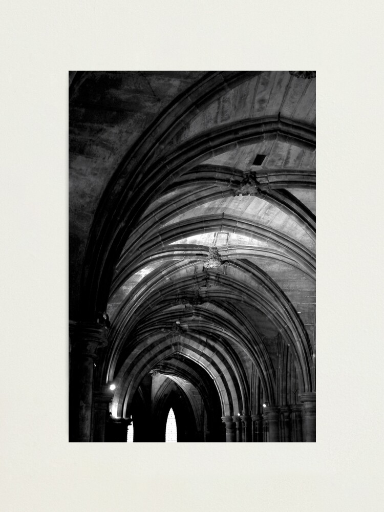 Alternate view of Glasgow Cathedral Photographic Print
