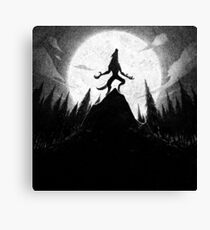 Drawlloween 2013: Werewolf Canvas Print