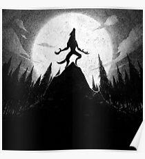 Drawlloween 2013: Werewolf Poster