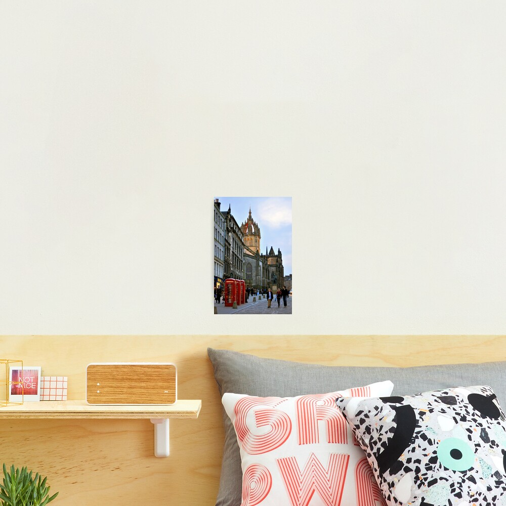 Evening Stroll on the Royal Mile Photographic Print