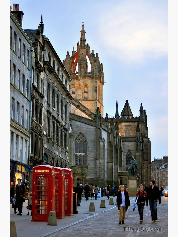Evening Stroll on the Royal Mile by Tiffany