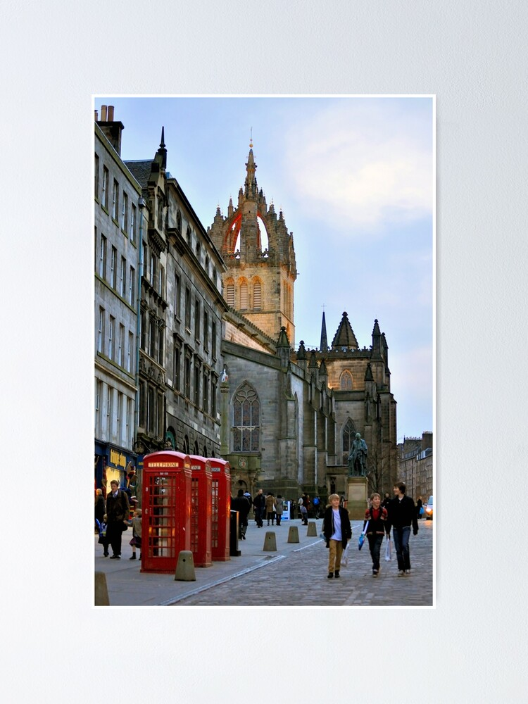 Alternate view of Evening Stroll on the Royal Mile Poster