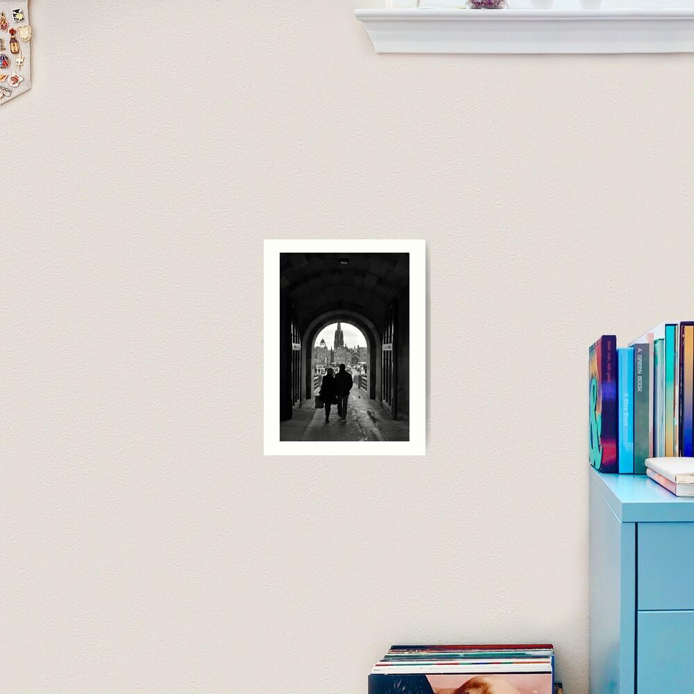 Grand Exit Art Print