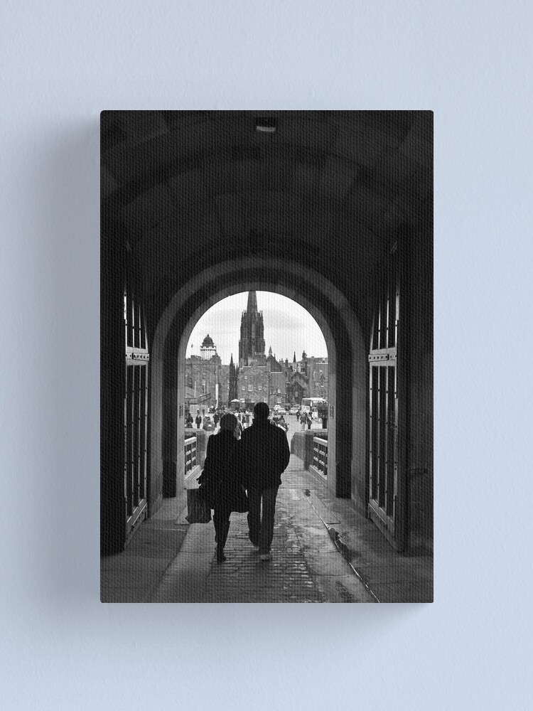 Alternate view of Grand Exit Canvas Print