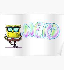 Spongebob Nerd Poster