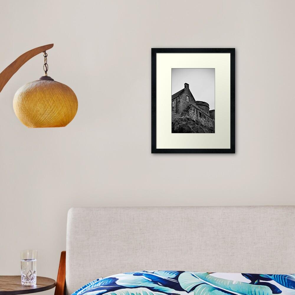 Edinburgh Castle Framed Art Print