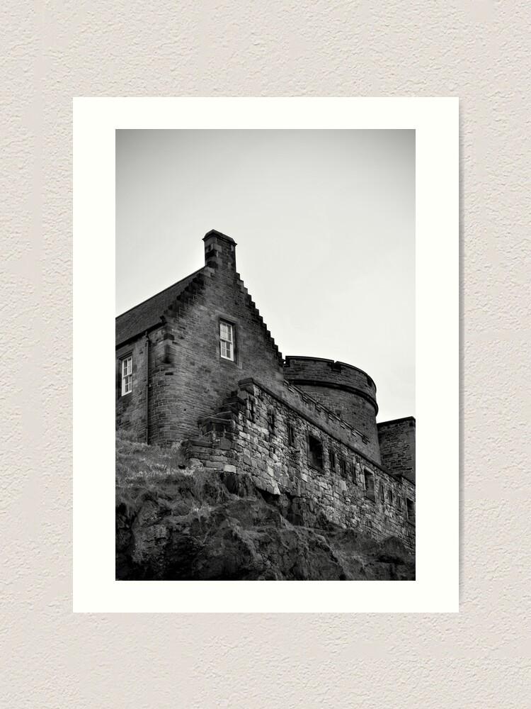 Alternate view of Edinburgh Castle Art Print
