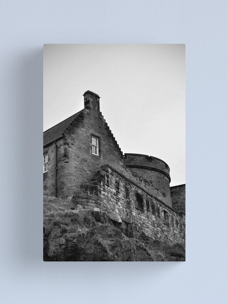 Alternate view of Edinburgh Castle Canvas Print