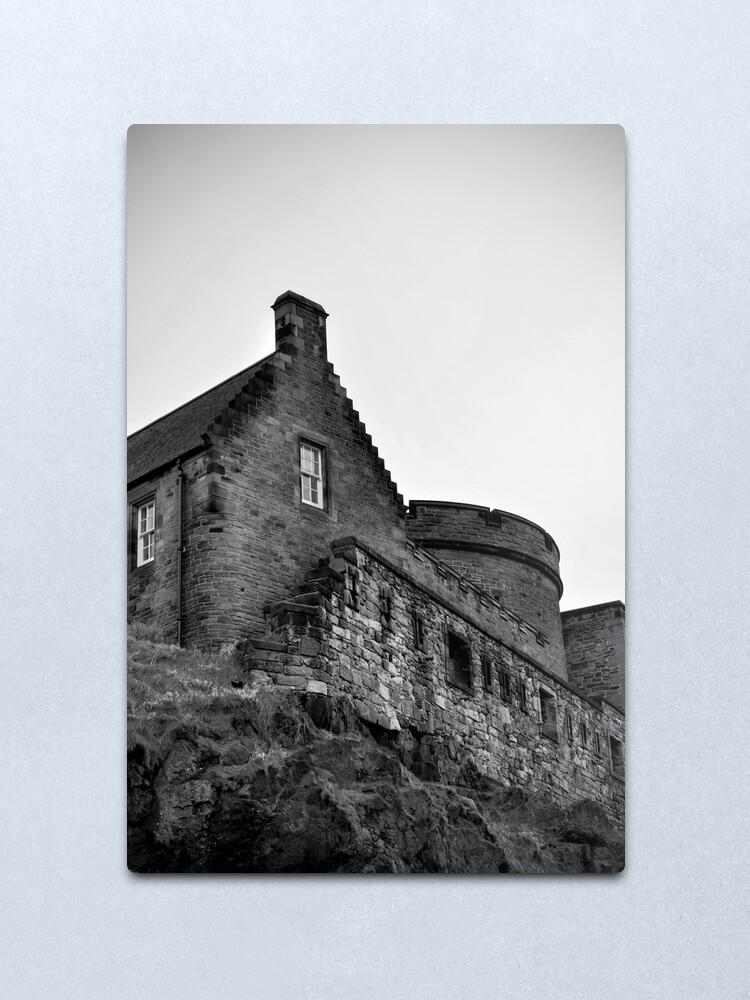 Alternate view of Edinburgh Castle Metal Print