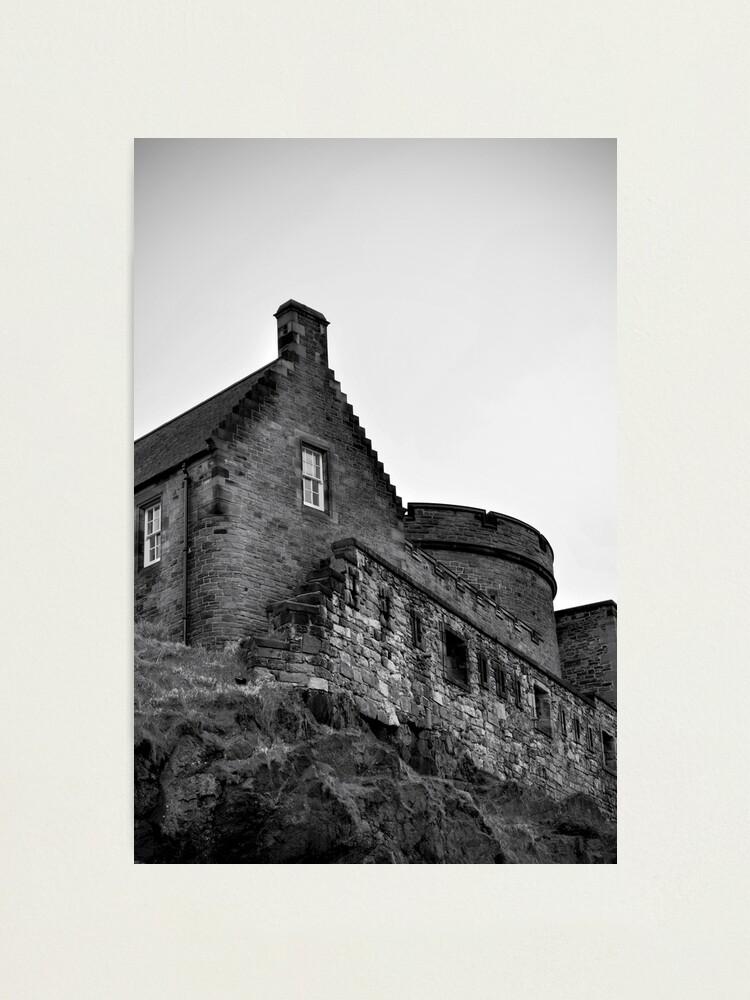 Alternate view of Edinburgh Castle Photographic Print