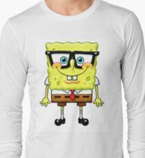 Spongebob Nerd Long Sleeve T-Shirt