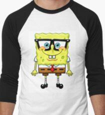 Spongebob Nerd Men's Baseball ¾ T-Shirt
