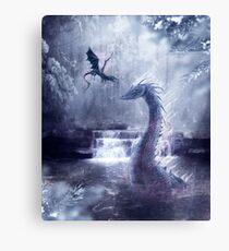 Ice Dragons Canvas Print
