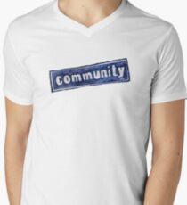 Community Logo Men's V-Neck T-Shirt