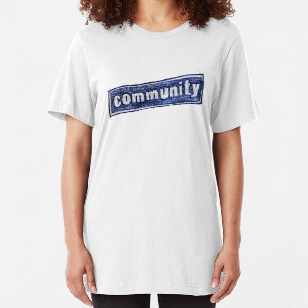 Community Logo Slim Fit T-Shirt
