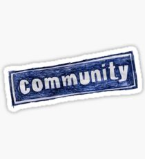Community Logo Sticker