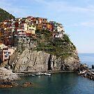 Manarola Cinque Terre Italy by TerrillWelch
