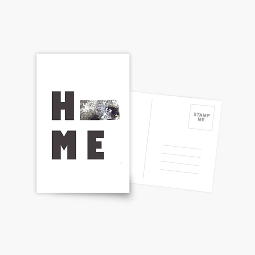 "Kansas ""HOME"" Postkarte"
