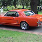 Orange Vintage Car. by djnatdog