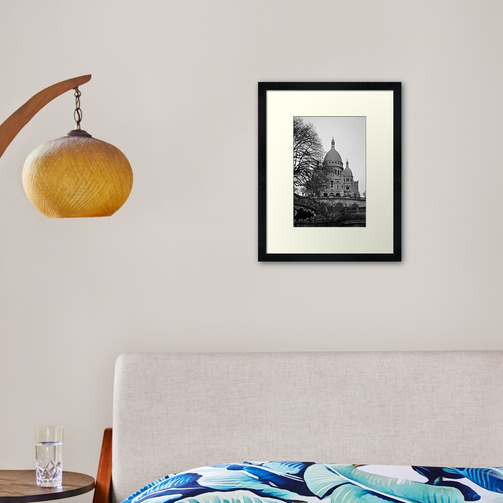 Sacre Coeur, Paris Framed Art Print