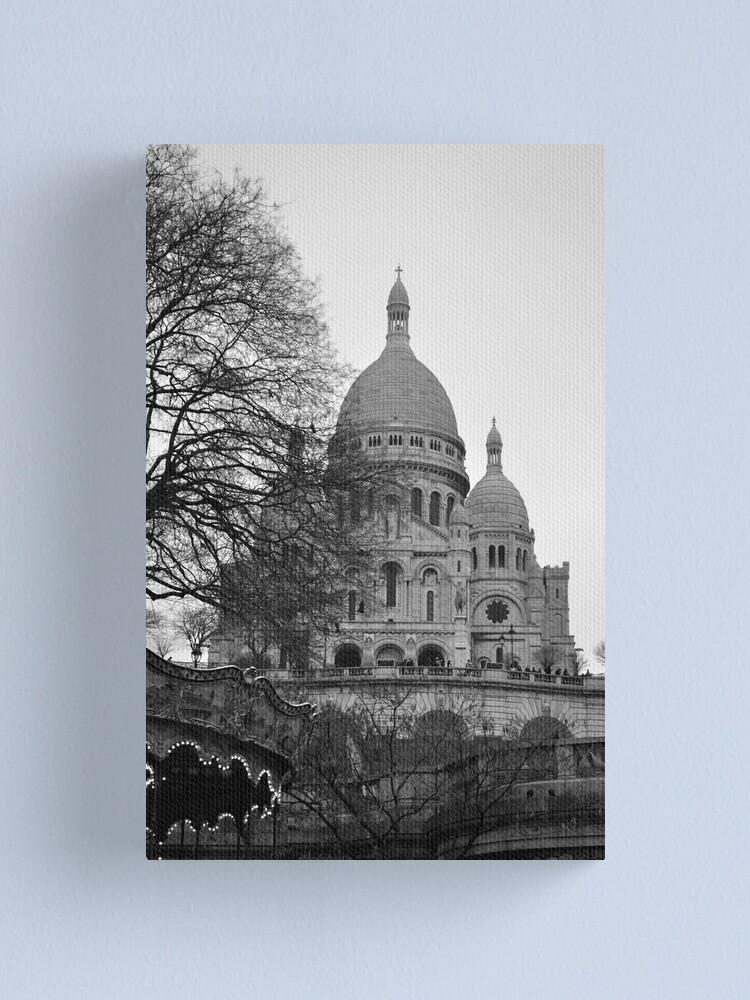 Alternate view of Sacre Coeur, Paris Canvas Print