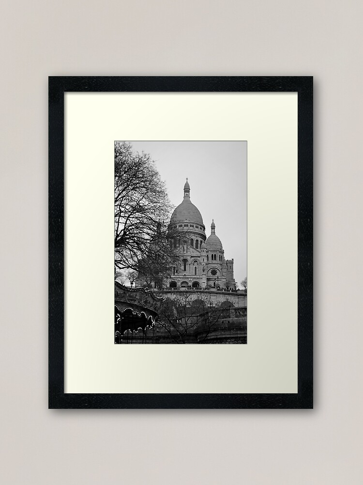 Alternate view of Sacre Coeur, Paris Framed Art Print