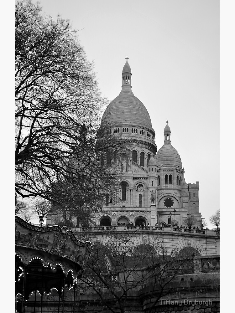 Sacre Coeur, Paris by Tiffany
