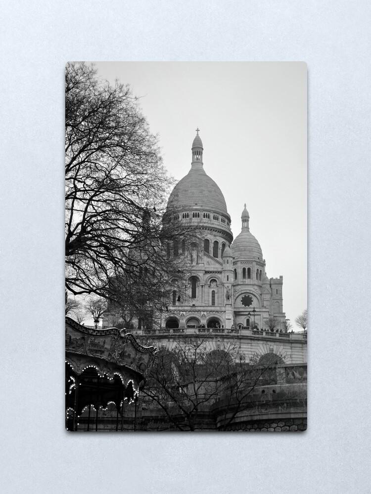 Alternate view of Sacre Coeur, Paris Metal Print