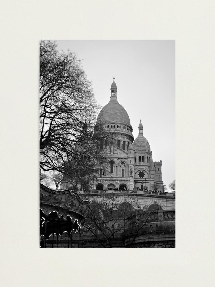 Alternate view of Sacre Coeur, Paris Photographic Print