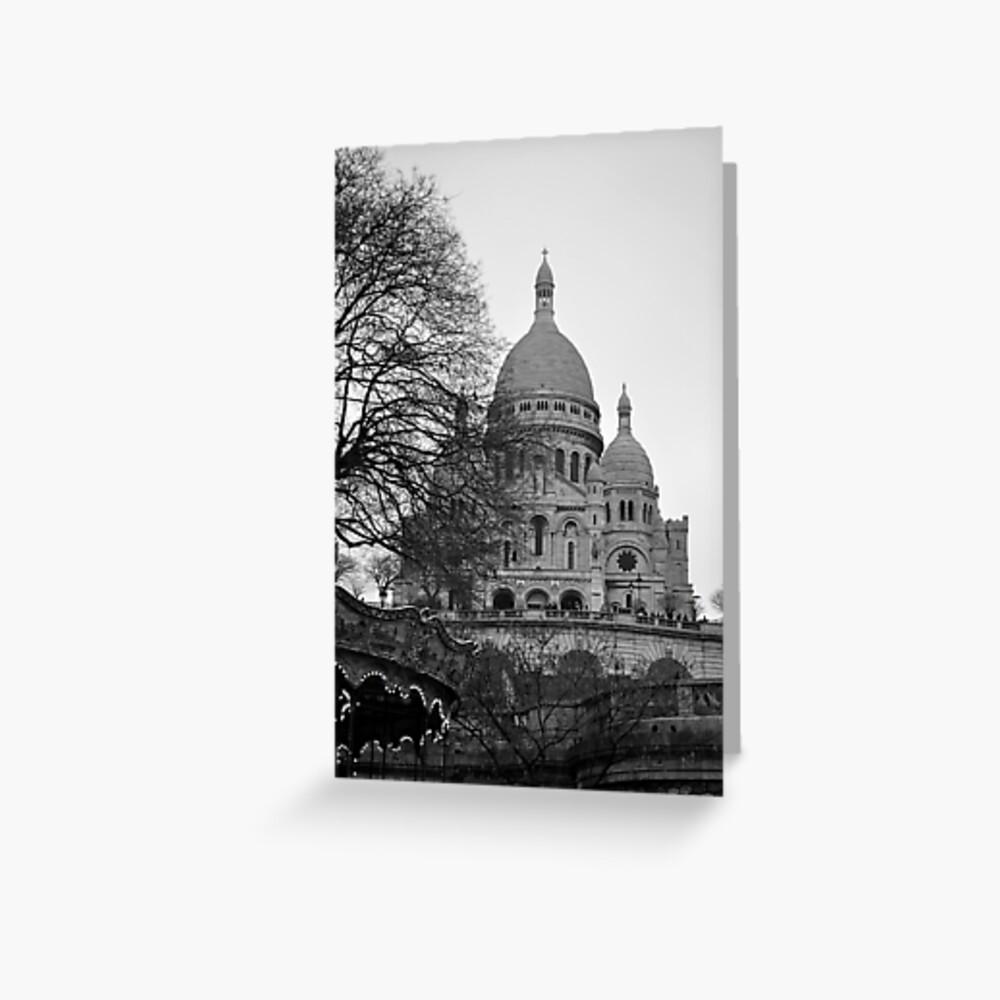 Sacre Coeur, Paris Greeting Card
