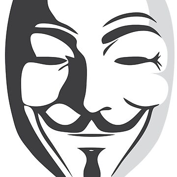 Fawkes Mask Shadow von Exilant