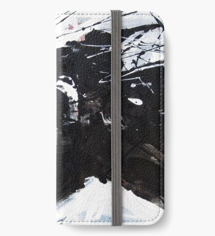 Black Horse 4 iPhone Wallet