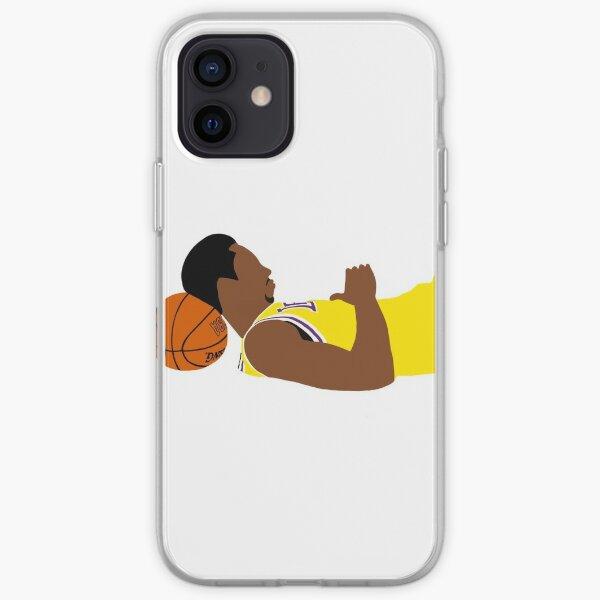 Imagen icónica de Kobe Bryant Funda blanda para iPhone