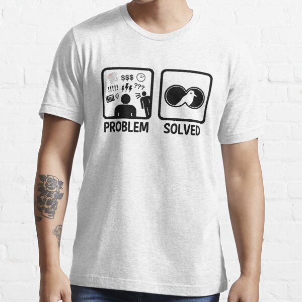 Funny Bird Watching Problem Solved Essential T-Shirt