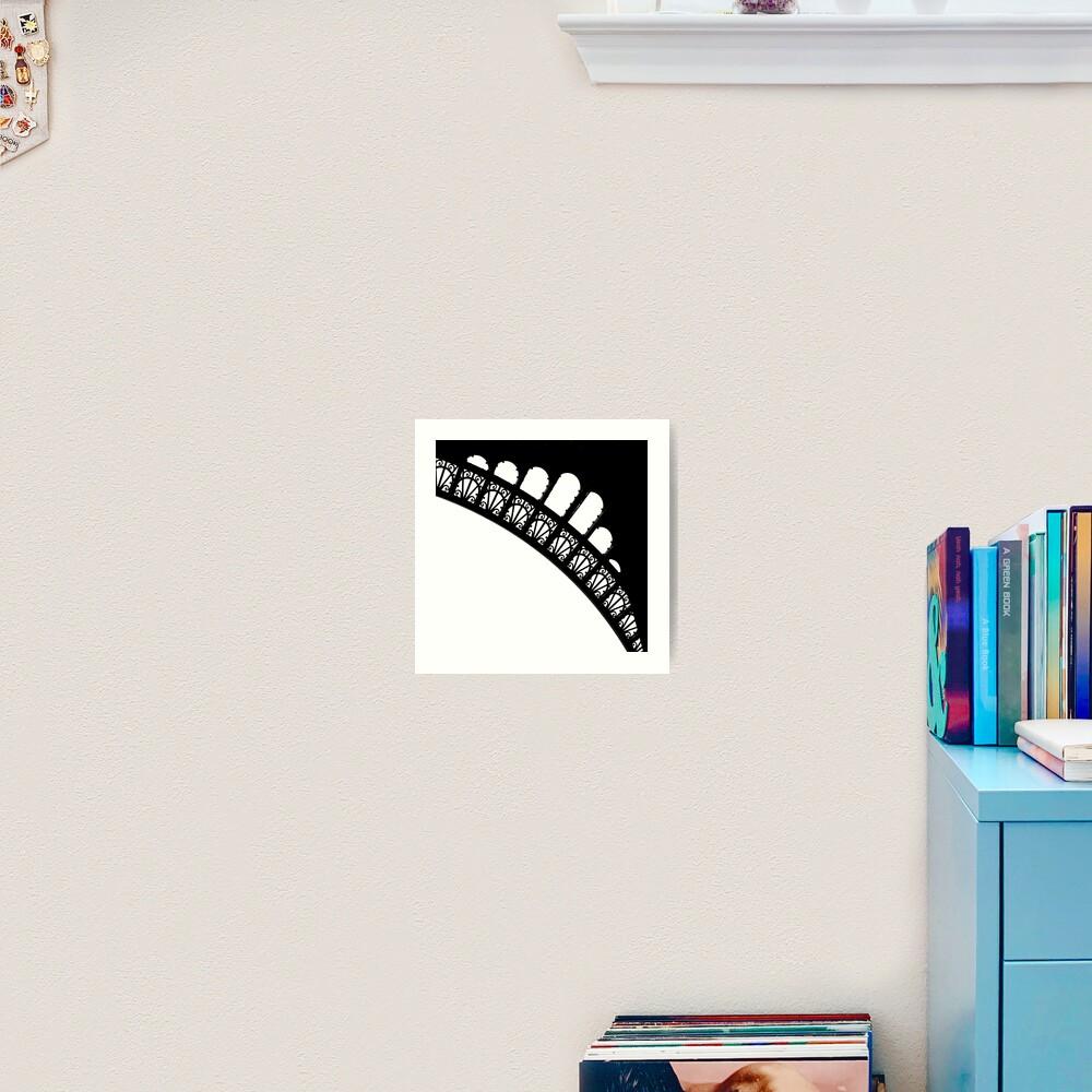Corner Curves Art Print