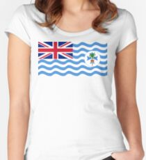 Coral Sea Islands Territory Flag Women's Fitted Scoop T-Shirt