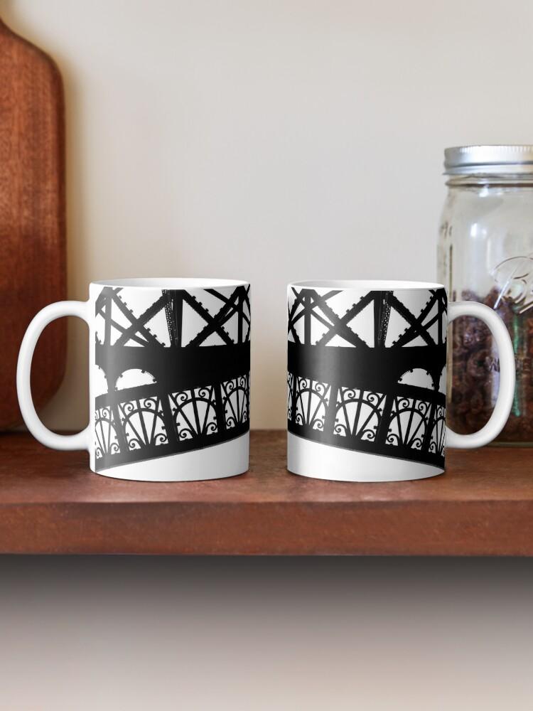 Alternate view of Iron Work, Eiffel Tower Mug