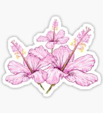 Light Pink Flower Sticker