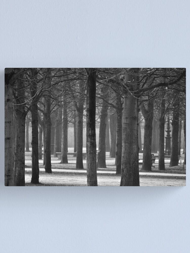 Alternate view of Winter Garden Canvas Print