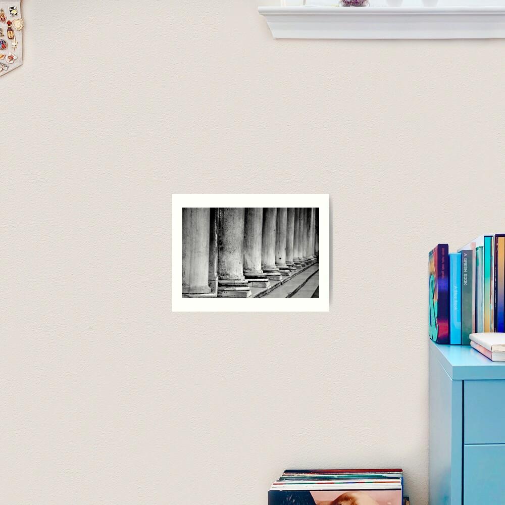 Columns, Procuratie Nuove Art Print