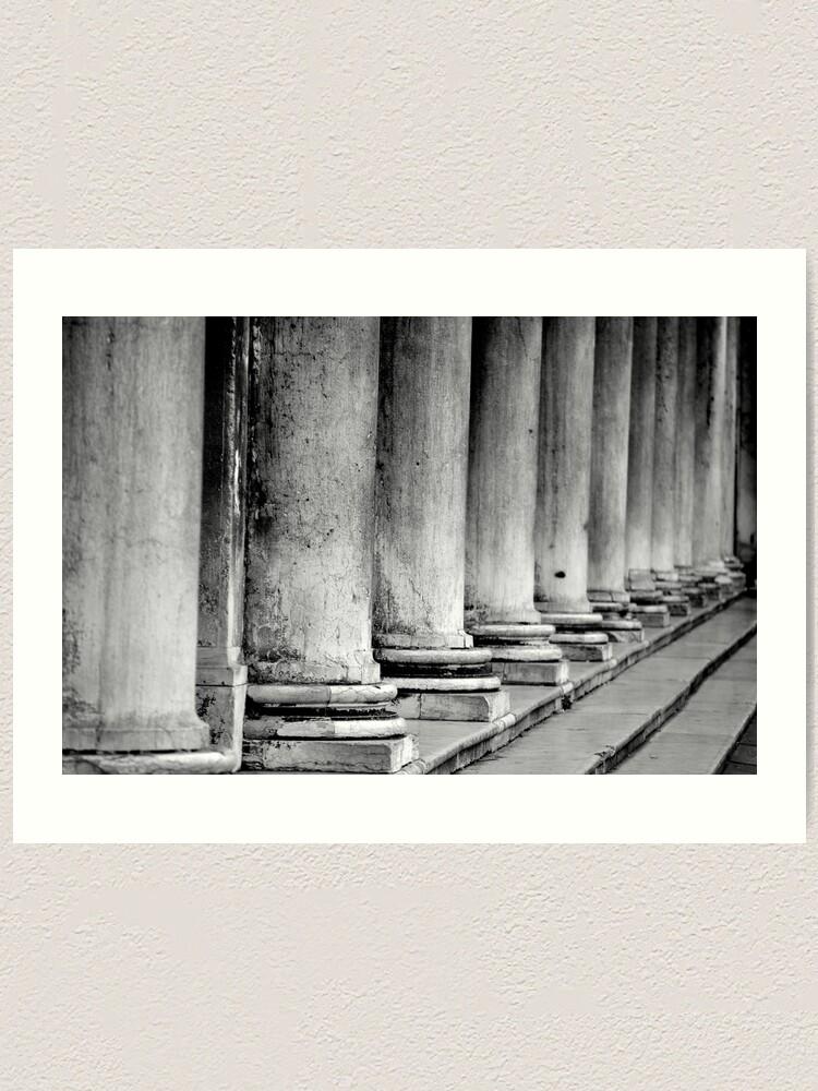 Alternate view of Columns, Procuratie Nuove Art Print