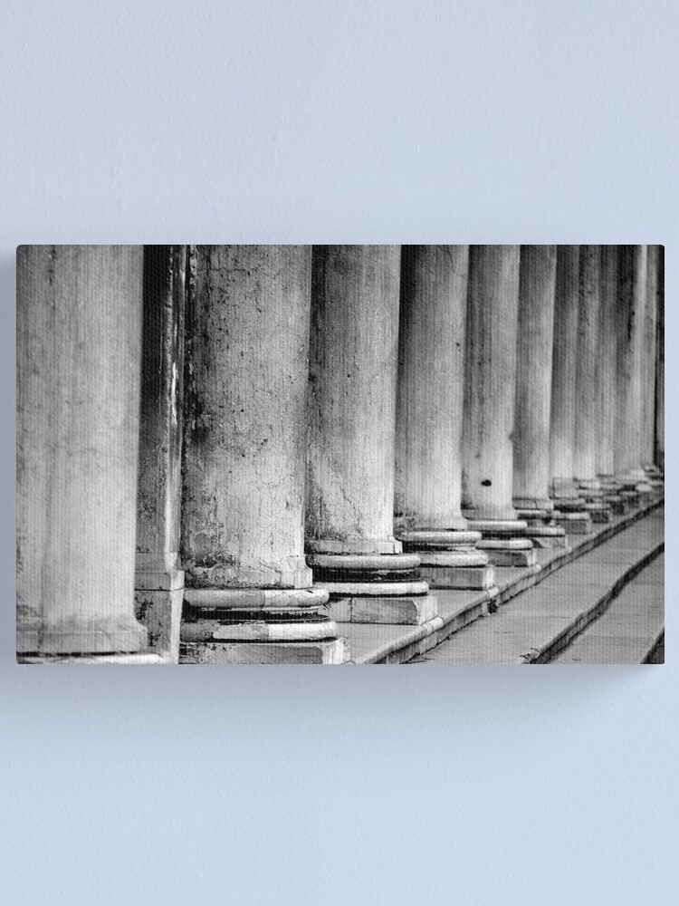 Alternate view of Columns, Procuratie Nuove Canvas Print