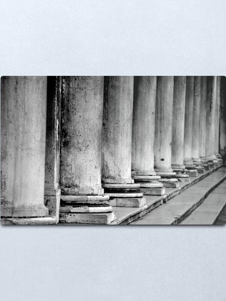 Alternate view of Columns, Procuratie Nuove Metal Print