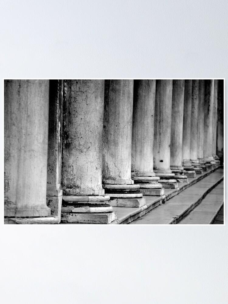 Alternate view of Columns, Procuratie Nuove Poster